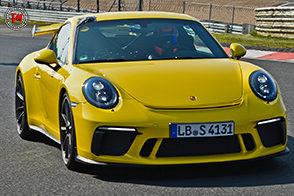 Sul circuito del Nurburgring è record per la nuova Porsche 911 GT3