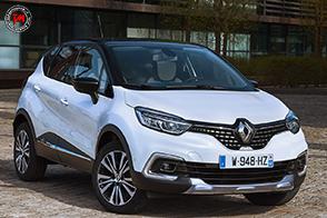 Sulla nuova Renault Captur arriva la versione Initiale Paris