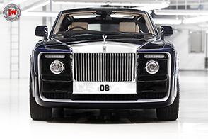 Rolls-Royce Sweptail: forme sinuose per una coupé incredibile