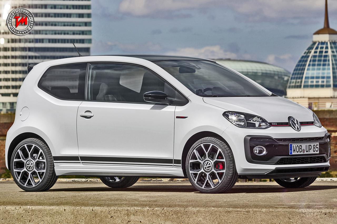 Volkswagen Up! GTI, citycar da 200 all'ora
