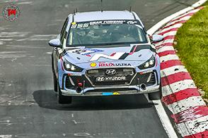 Completati con successo i test di Hyundai i30 N alla 24 Ore del Nurburgring