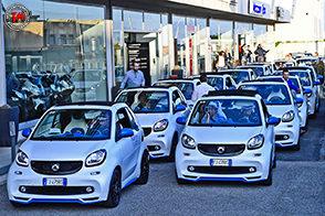 L'audace smart Cabrio urbanrunner ripercorre le strade della storica Targa Florio