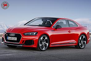 Prestazioni mostruose per la nuova Audi RS 5 Coupé