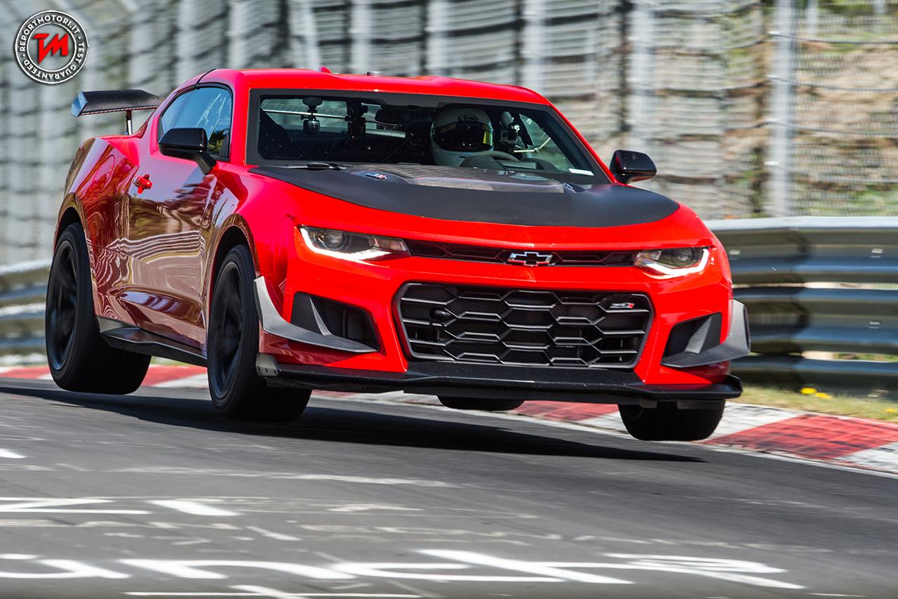 Al Nurburgring Una Chevrolet Camaro Zl1 1le Da Record