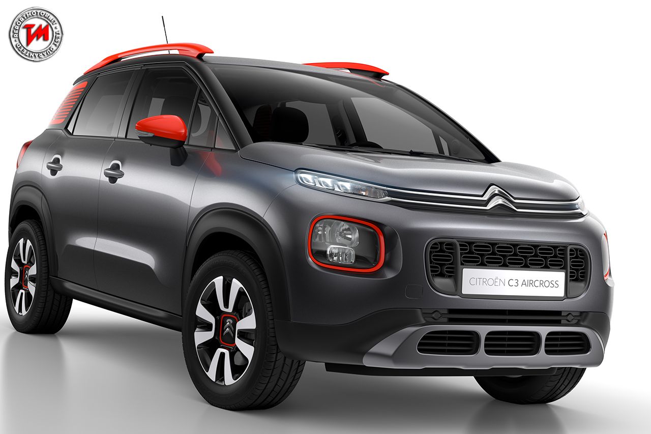 citroen c3 aircross colori vivaci per un suv compatto. Black Bedroom Furniture Sets. Home Design Ideas