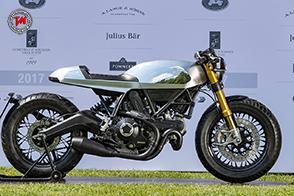 Ducati Café Racer vince al Concorso d'Eleganza Villa d'Este