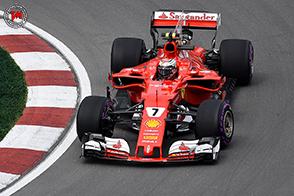 GP Canada: Seb quarto, Kimi settimo in un GP tutto da ricostruire