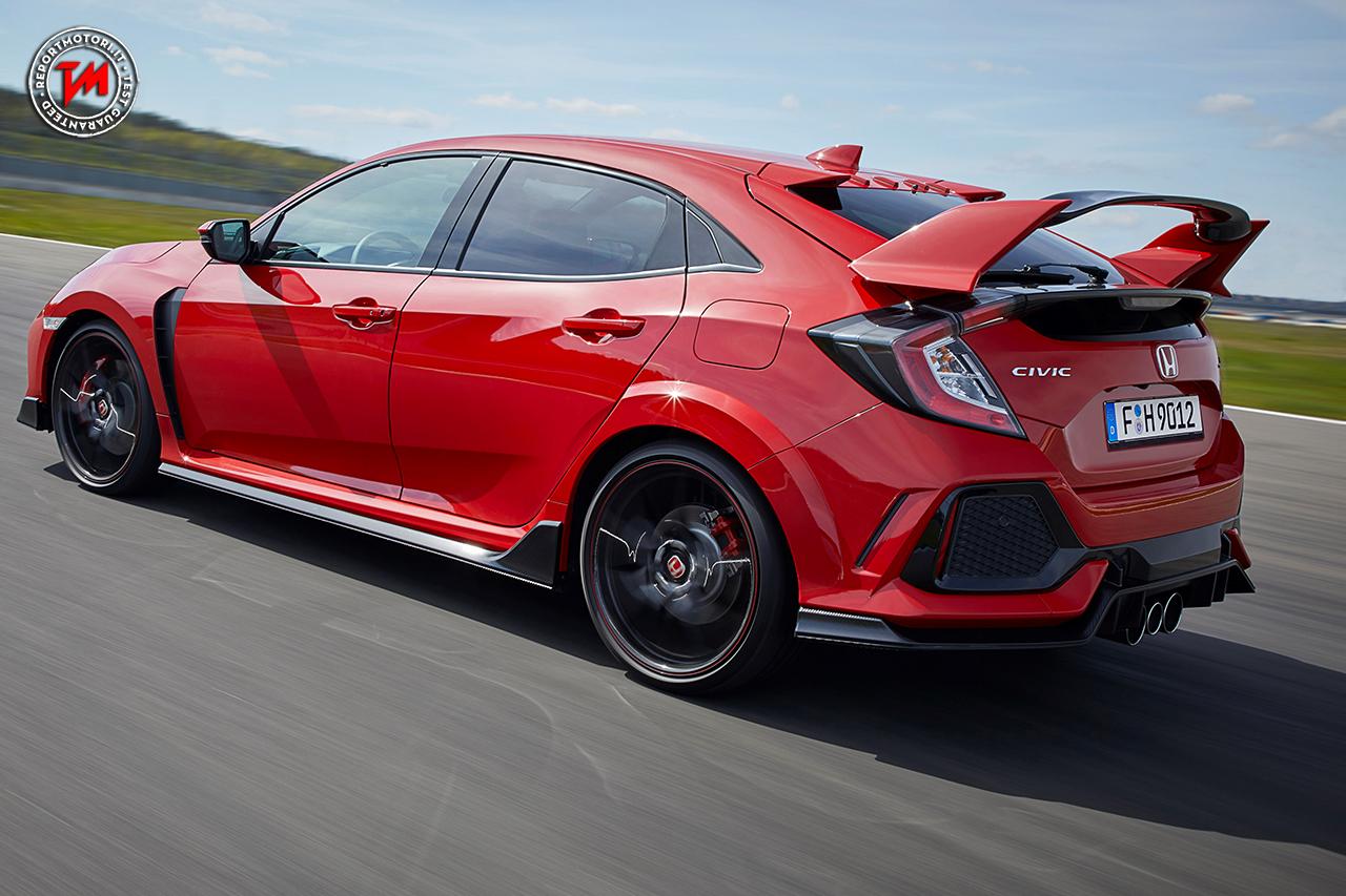 Performance elevatissime per la nuova honda civic type r for Honda type r horsepower
