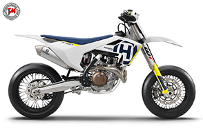 Husqvarna Supermoto FS 450 2018: pedigree vincente!