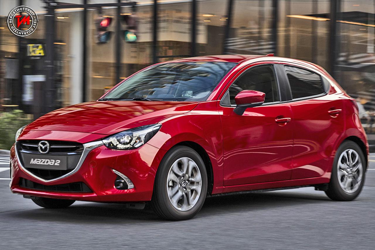 Nuova Mazda2 Model Year 2017: linee muscolose e dotazioni ...