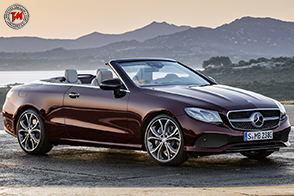 Nuova Mercedes-Benz Classe E Cabrio: una scopera ricca di fascino