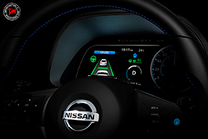 Nissan Leaf con sistema di guida assistita ProPilot 1.0