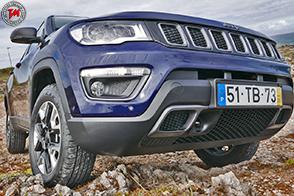 Dotazione al top per la nuova Jeep la Compass Limited Winter