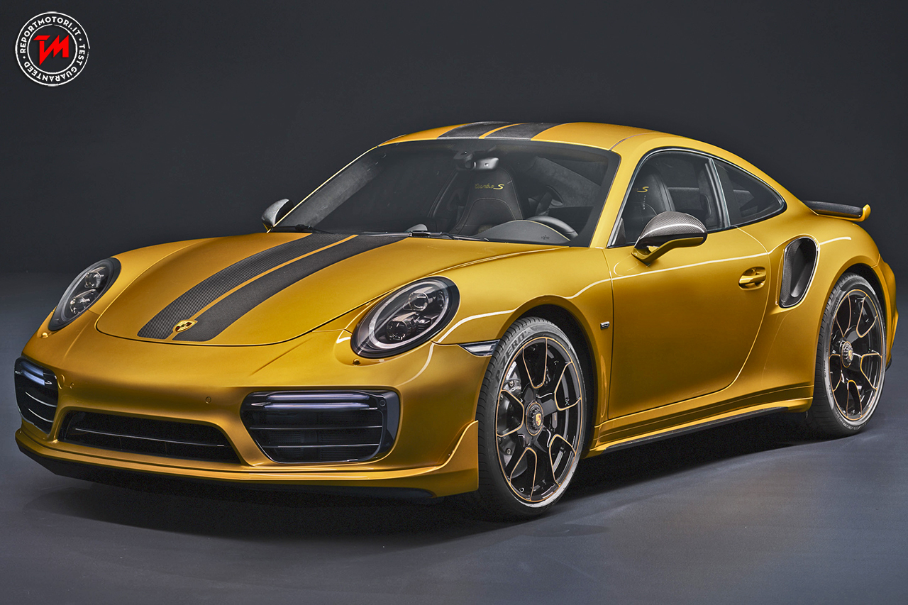 Porsche 911 Turbo S Exclusive Series, la più potente ed esclusiva