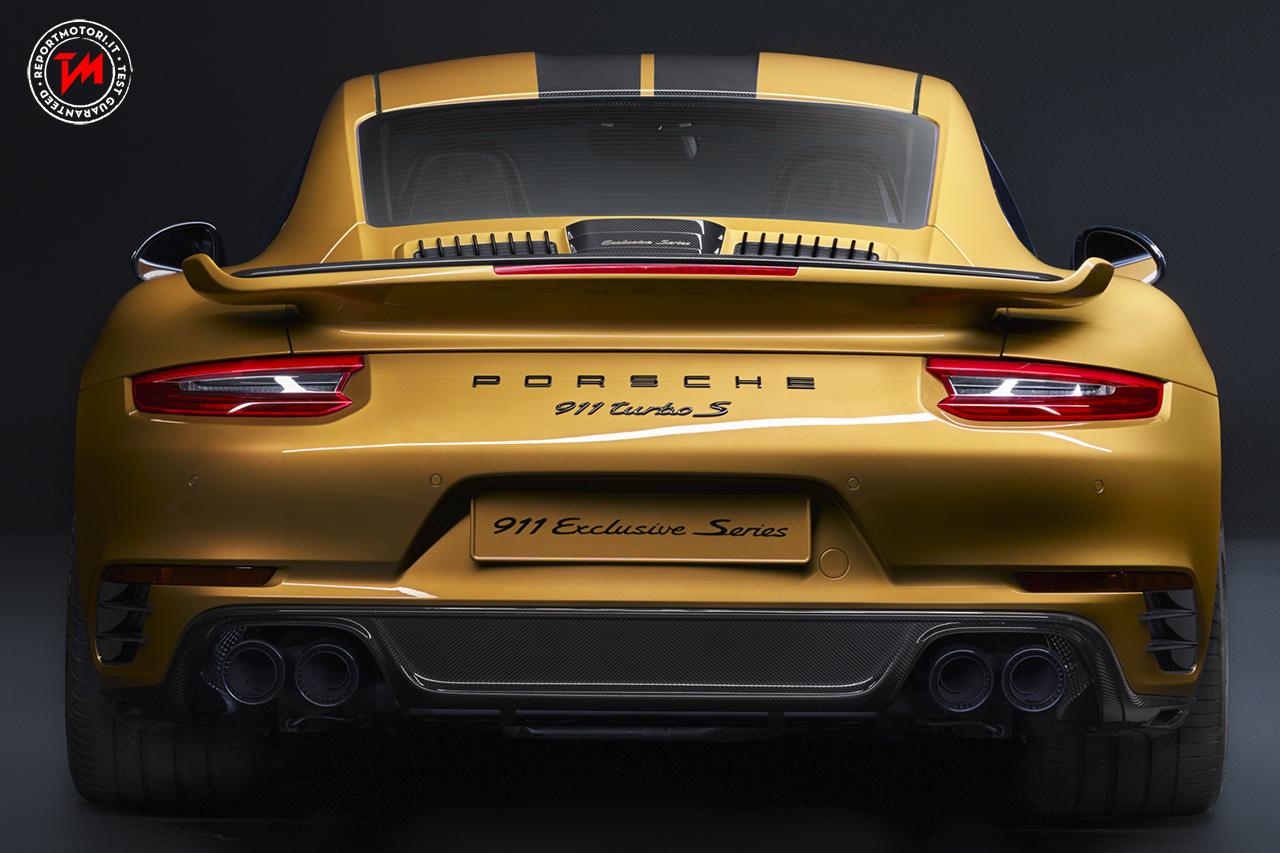 Porsche 911 Turbo S: una 'Exclusive Series' in edizione limitata