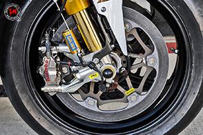 La pista di Motegi mette a dura prova i freni delle MotoGP