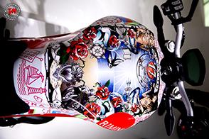 Special Ducati Monster 797: un tributo alla città di Rimini firmato da Drudi