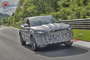 Continuano i test per il lancio della nuova Jaguar E-Pace
