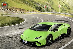Il giro della Transilvania a bordo di sei Lamborghini
