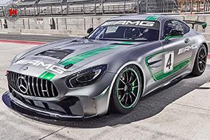 Alla 24 Ore di Spa-Francorchamps debutto per la Mercedes-AMG GT4