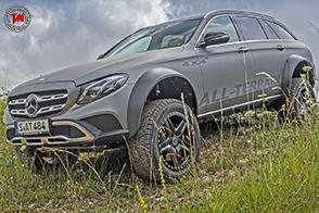 Una incredibile off-road: nasce Mercedes-Benz All-Terrain 4×4 al quadrato