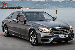 Più di 1.600 componenti nuovi sulla Mercedes-Benz Classe S