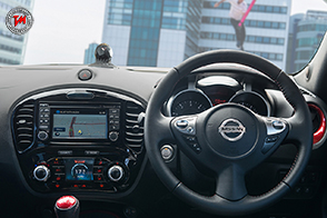 Nissan JukeCam: la telecamera da cruscotto!