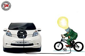Nissan sostiene il progetto DinamoBike per la fornitura di energia