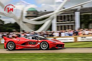 GOODWOOD FOS – I Piloti e le vetture della Ferrari pronti a dare spettacolo