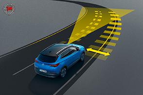 Massima sicurezza attiva sulla nuova Opel Grandland X
