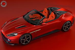 Solo 28 esemplari per la Aston Martin Vanquish Zagato Speedster