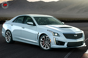 Cadillac CTS-V Glacier Metallic Edition: un V8 da 640 cavalli!