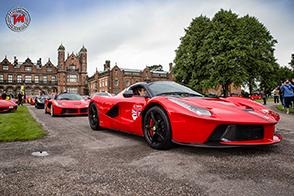 In Inghilterra, Ferrari festeggia i suoi 70 anni