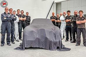 Restaurata una rarissima Jaguar Xk120 SE Pininfarina corta