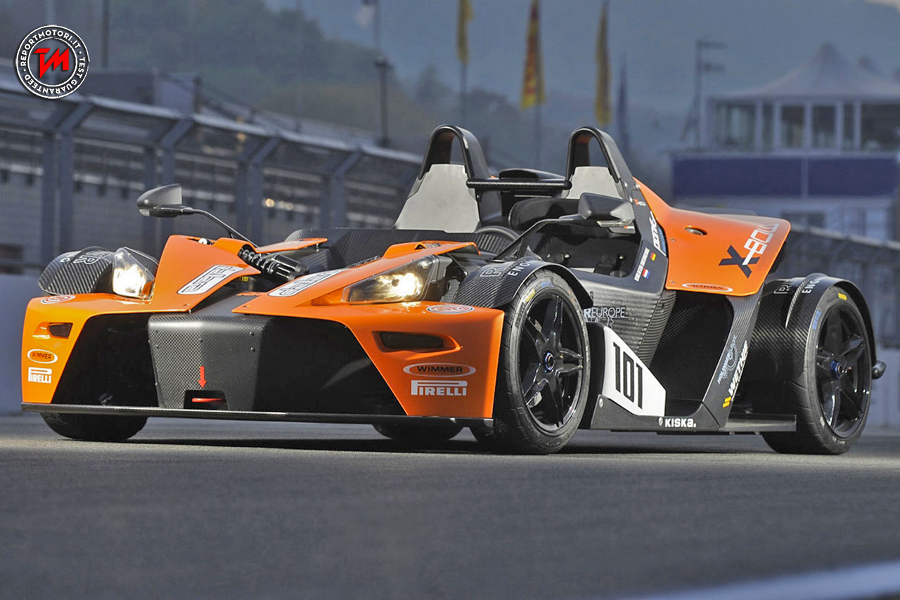 dalla strada alla pista con la velocissima ktm x bow race. Black Bedroom Furniture Sets. Home Design Ideas