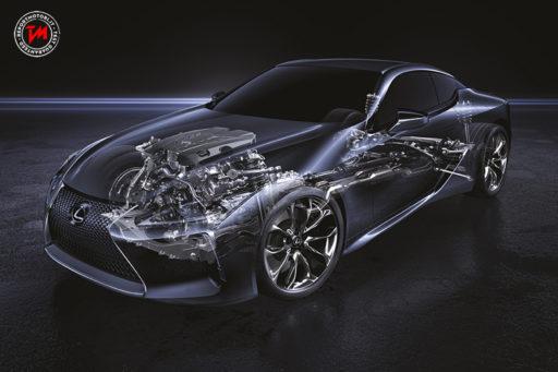 Nuova Lexus LC