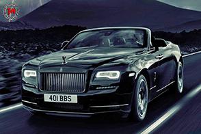 Esclusività senza compromessi per la Rolls-Royce Dawn Black Badge