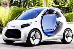 smart vision EQ fortwo: una nuova visione della mobilità urbana