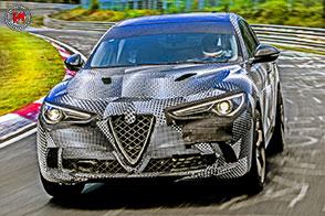 Record sul giro al Nurburgring per Alfa Romeo Stelvio Quadrifoglio