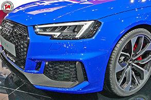 Nuova Audi RS4 Avant: potenza della sovralimentazione!