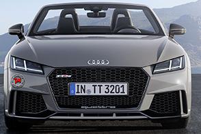Al via la prevendita in Italia della nuova Audi TT RS Roadster