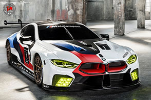 BMW M8 GTE è pronta al debutto in pista