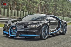 41,96 secondi nello 0-400-0 km/h: è il nuovo record della Bugatti Chiron