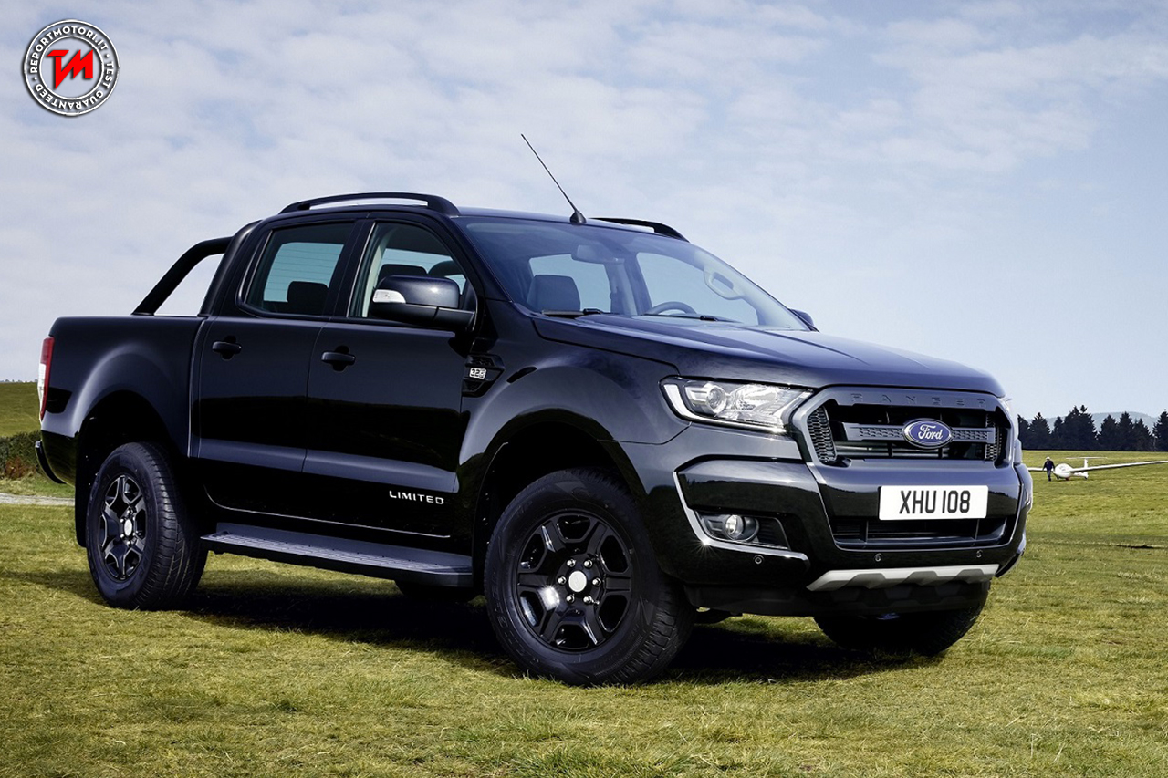 ford ranger black edition il pick up audace dell 39 ovale blu. Black Bedroom Furniture Sets. Home Design Ideas