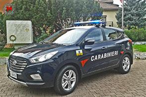 Hyundai ix35 Fuel Cell ad idrogeno in uso alle forze di polizia italiane