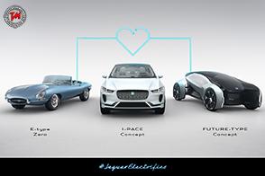 Dal 2020 versione elettriche per tutte le nuove Jaguar Land Rover