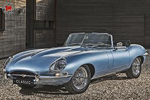 Jaguar E-Type Zero: un restauro elettrico!