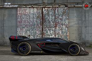McLaren Ultimate Vision Gran Turismo in Gran Turismo Sport