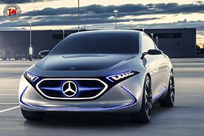 Doppio motore elettrico per la Mercedes-Benz Concept EQA