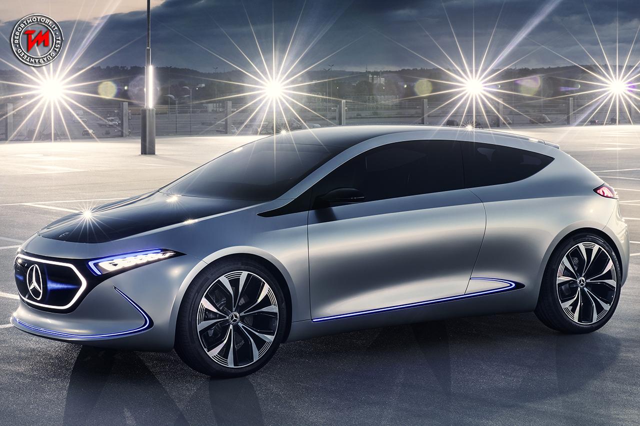 Doppio motore elettrico per la mercedes benz concept eqa for Mercedes benz metairie la